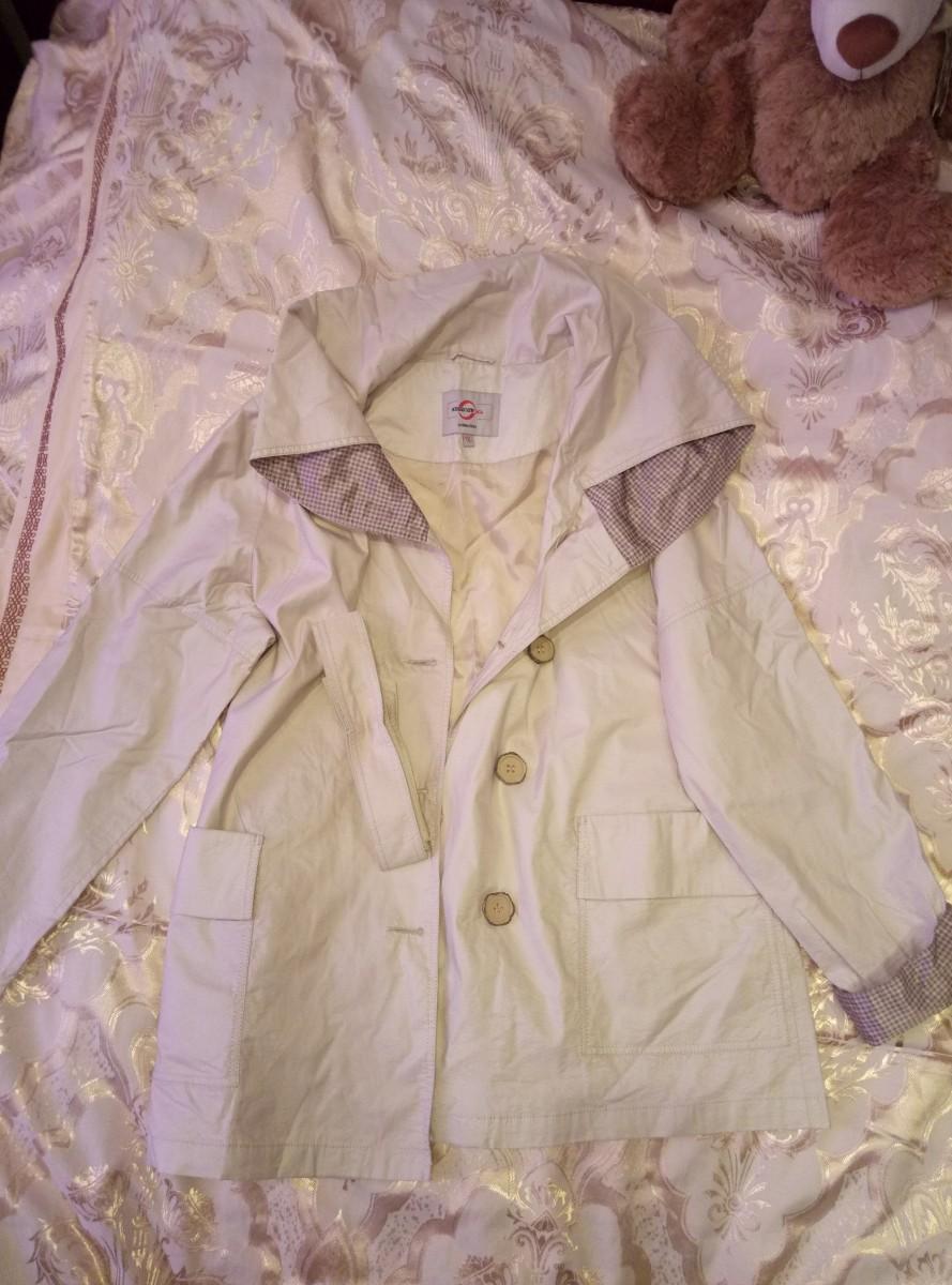 Куртка женская светло-бежевая