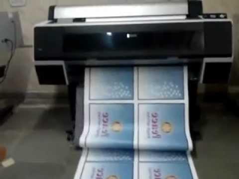 Полиграфические услуги, широкоформатная печать