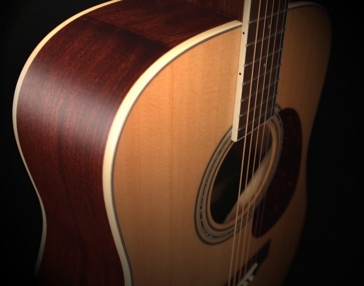 CORT EARTH 70 NAT акустическая гитара + Новые струны D'Addario! АКЦИЯ!