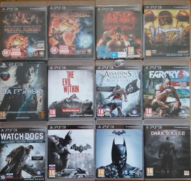 Игры диски лицензия на Sony PlayStation 3 PS 3