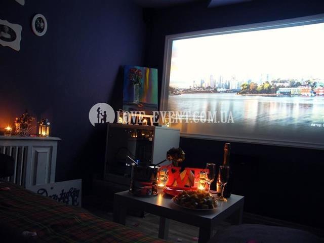 Романтическое свидание в кинотеатре для двоих в Киеве