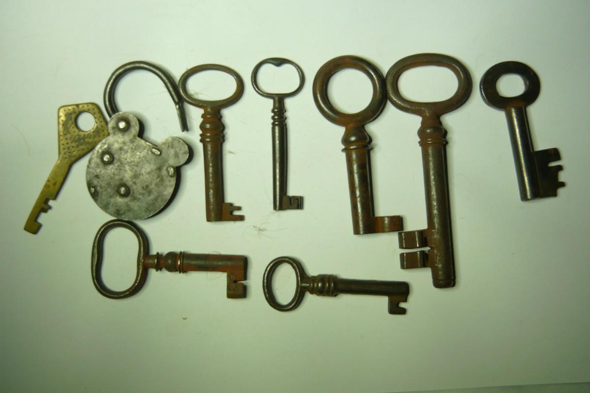 Коллекция ключей конец 19 начало 20 века