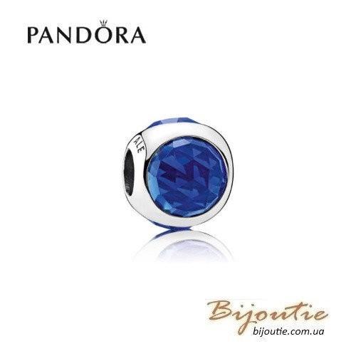 PANDORA шарм ― синяя сверкающая капля 792095NCB