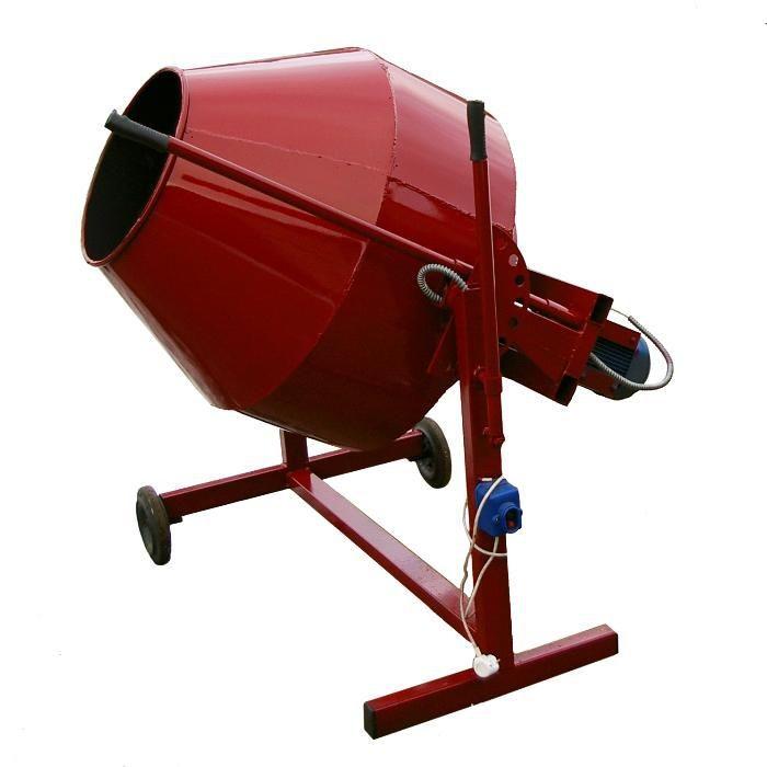 Бетономешалка 120-700 л стальной венец  профи