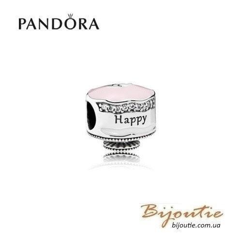 PANDORA шарм ― именинный торт 792061ENMX