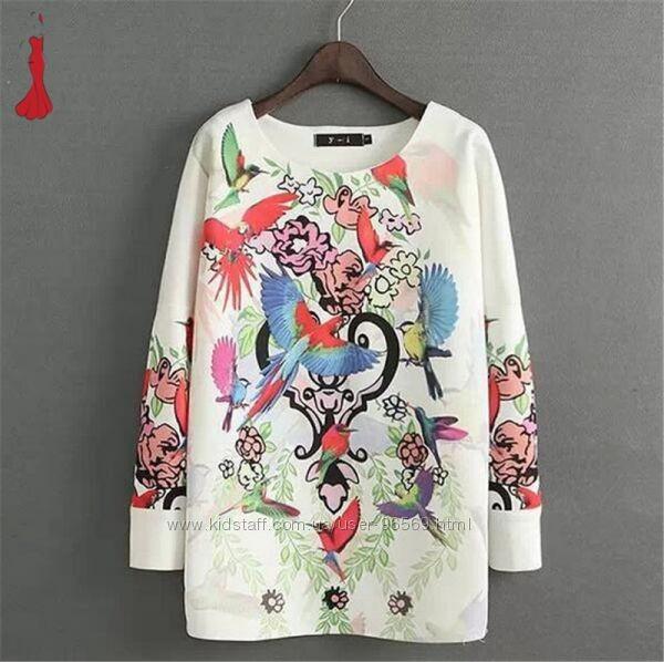 Шикарная блуза-свитшот мой пролет с Ebay