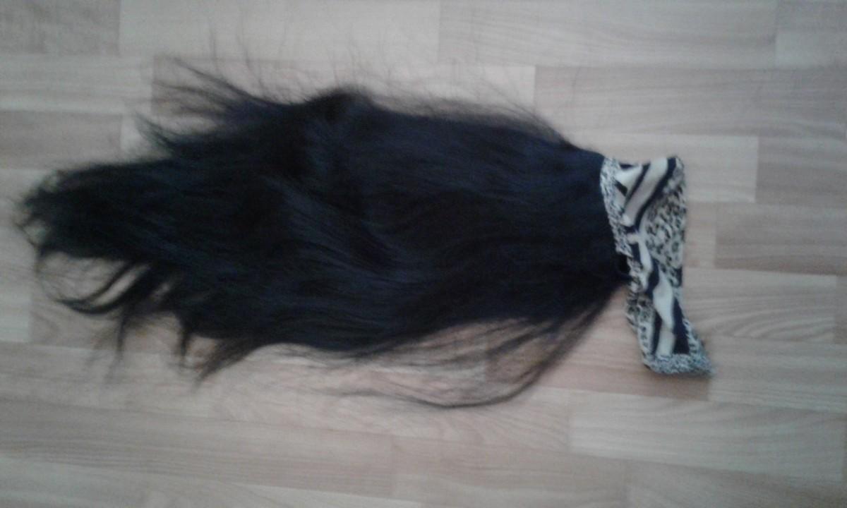 натуральный волос Длинна 75 см