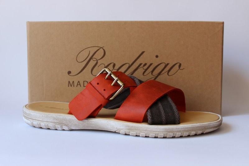 Шикарные кожаные шлепанцы Made In Italy, Италия-Оригинал