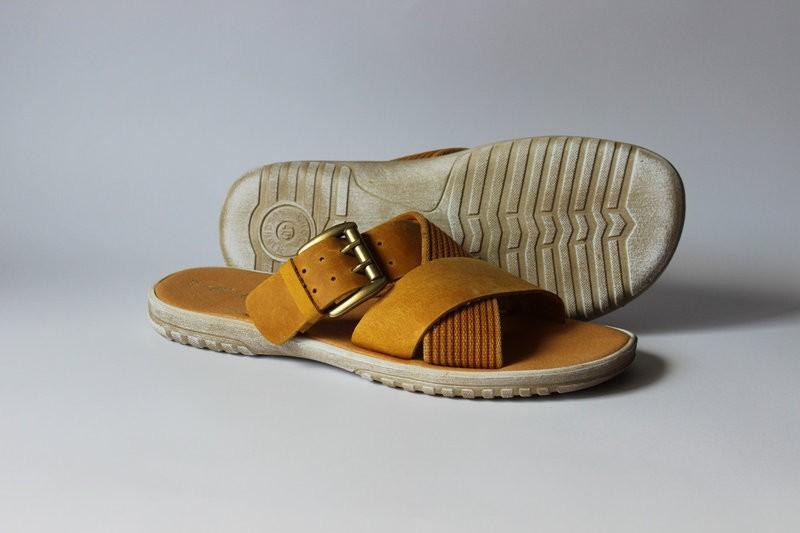 кожаные шлепанцы Made In Italy, Италия-Оригина