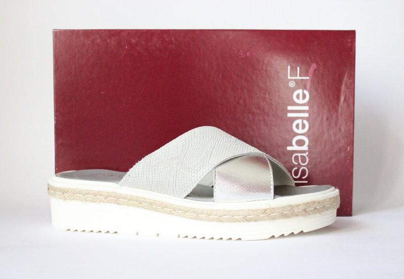 кожаные шлепанцы Isabelle F, Италия-Оригинал