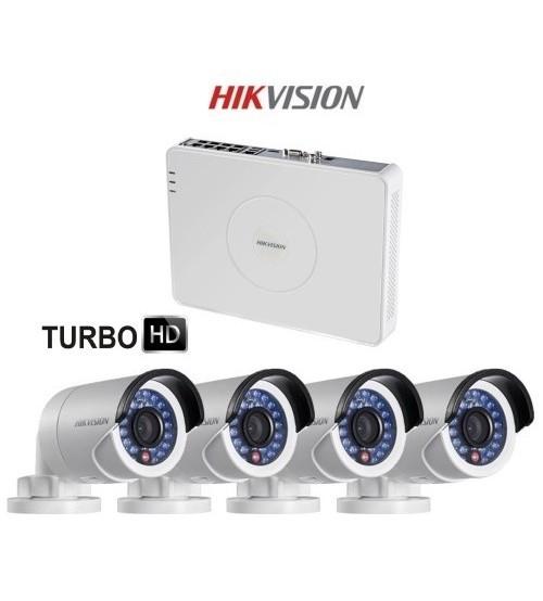 Комплект Turbo HD Відеоспостереження Hikvision DS-J142I/7104HGHI-E1