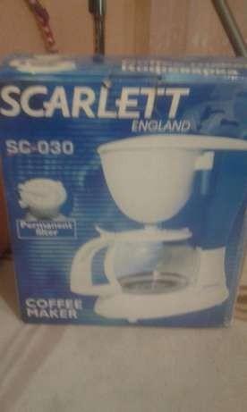 продам кофеварку Scarlett SC-030