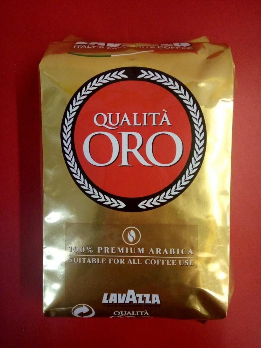 Кофе Lavazza Qualita Oro (Лавацца квалита оро) ОРИГИНАЛ