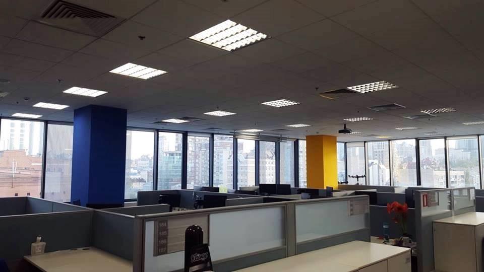 LED-Модернизация (переделка) растровых офисных и пром светильников