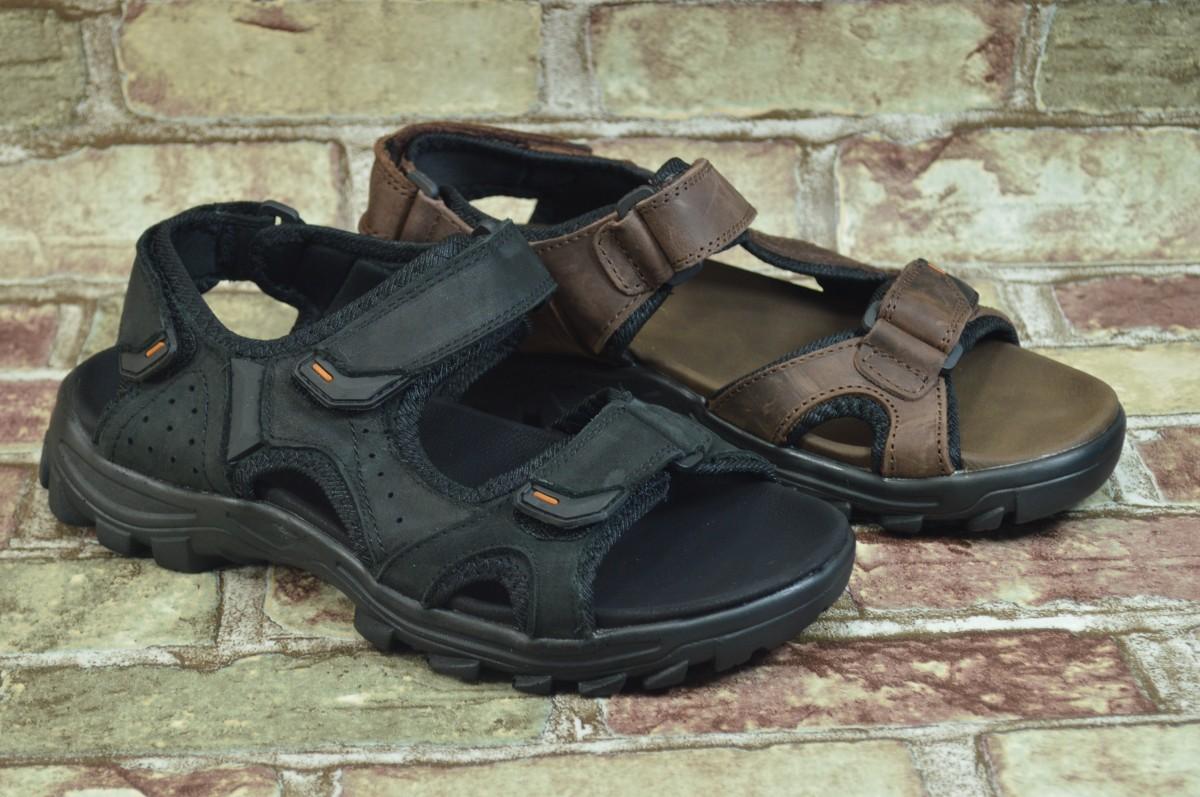 Мужские кожаные сандали (босоножки) Razor в 2-х цветах