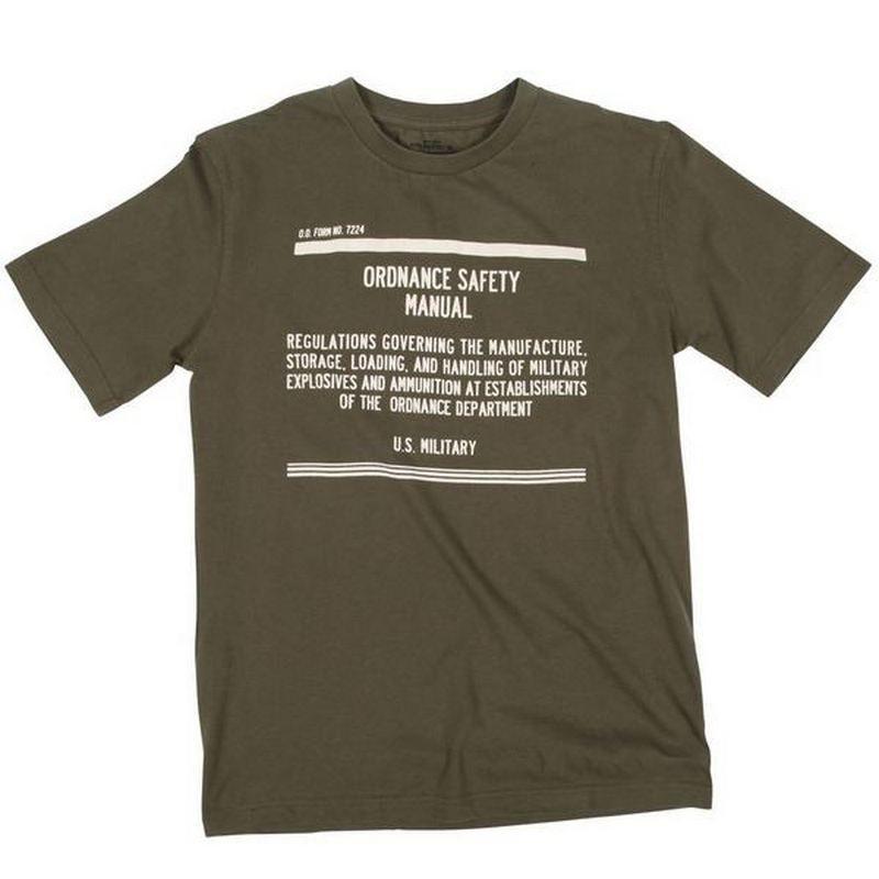 Футболка Alpha Industries Safety Manual T-shirt