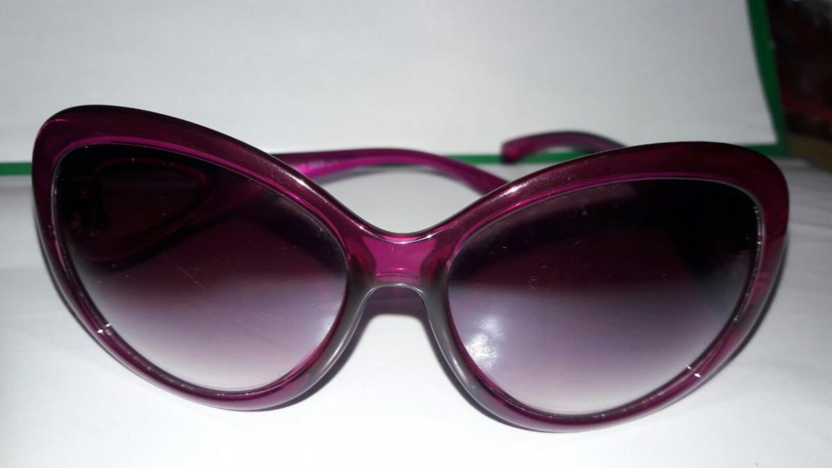 Очки пурпурные