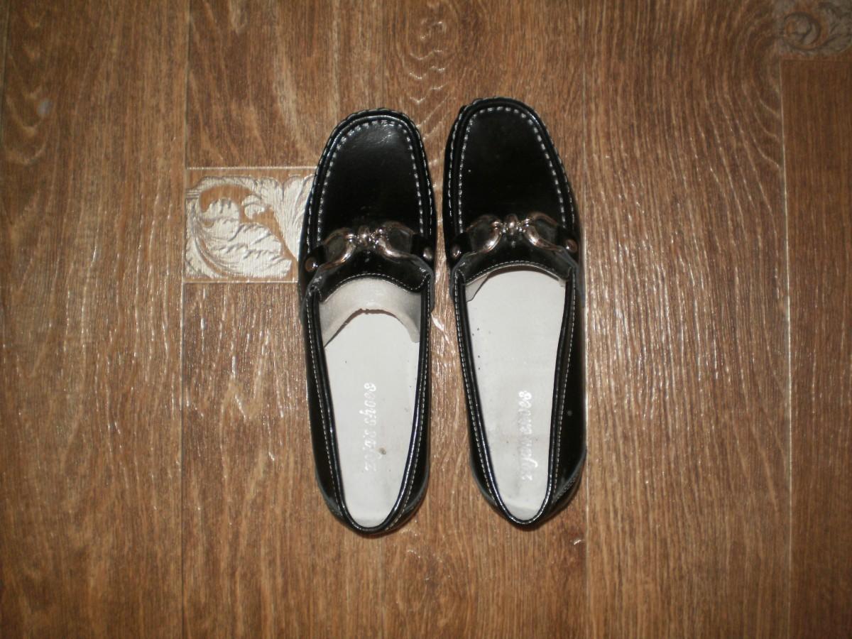 6a8eec963 Туфли женские кожзам на низком ходу размер 37