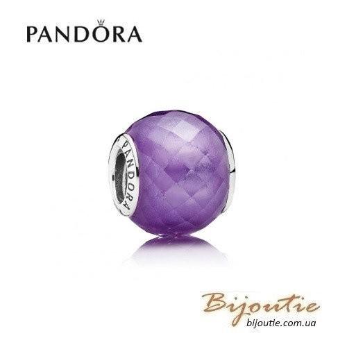 Шарм PANDORA пурпурный кристалл  ―  791499ACZ