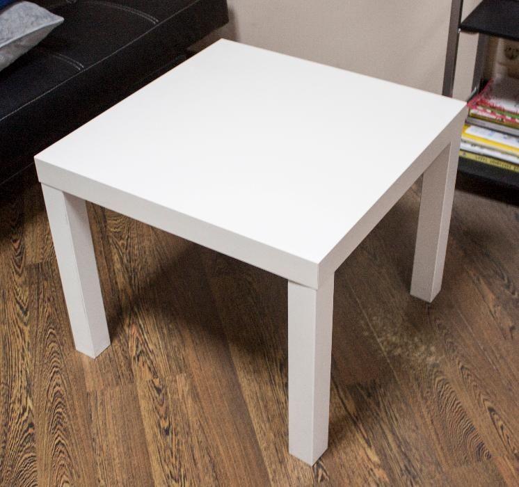 Стильный белый столик (новый)