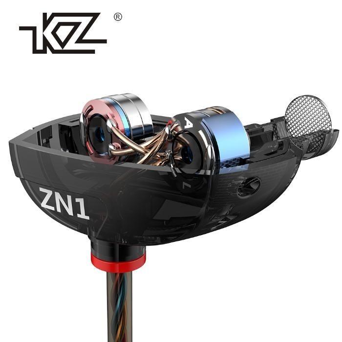 Двухдрайверные Hi-Fi наушники Knowledge Zenith (KZ) ZN1