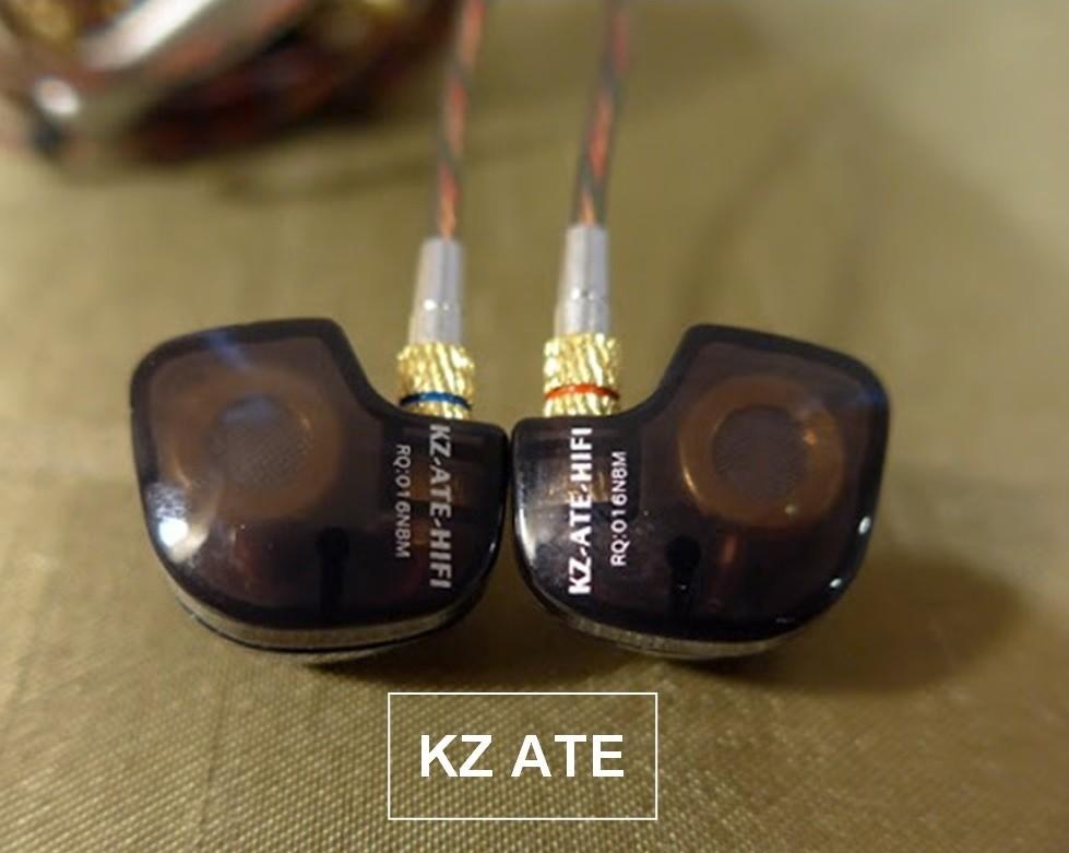 Knowledge Zenith KZ ATE Hi-Fi наушники гарнитура