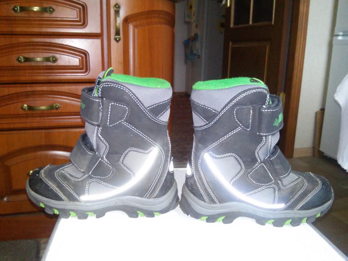 Зимние термо ботинки B&G, р. 28