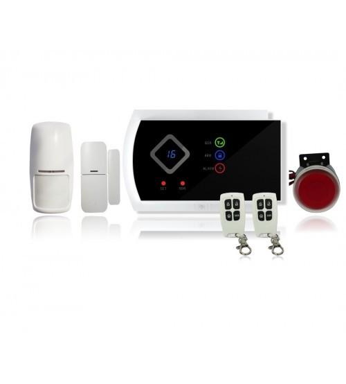 Охоронна сигналізація з GSM голосовим дзвоном на 6 номерів і CMC