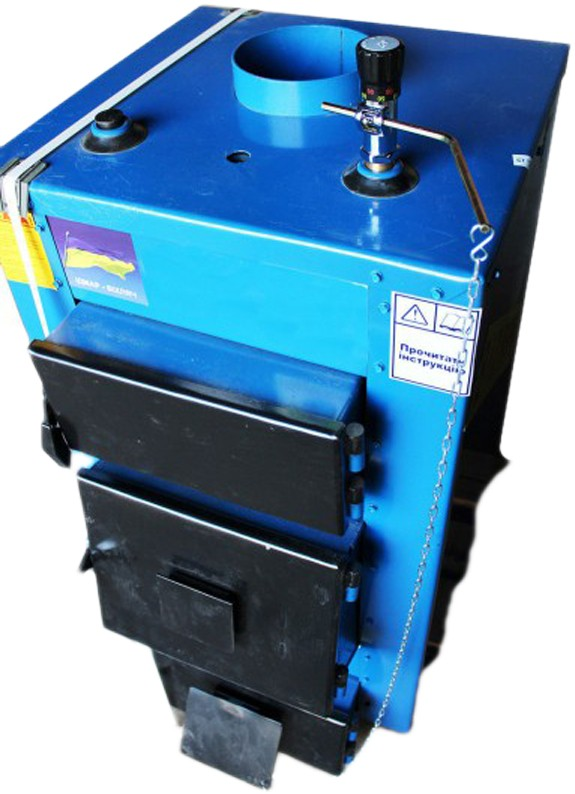 Котел твердотоплевный Идмар UKS на 10 кВт; 13 кВт;  17 кВт