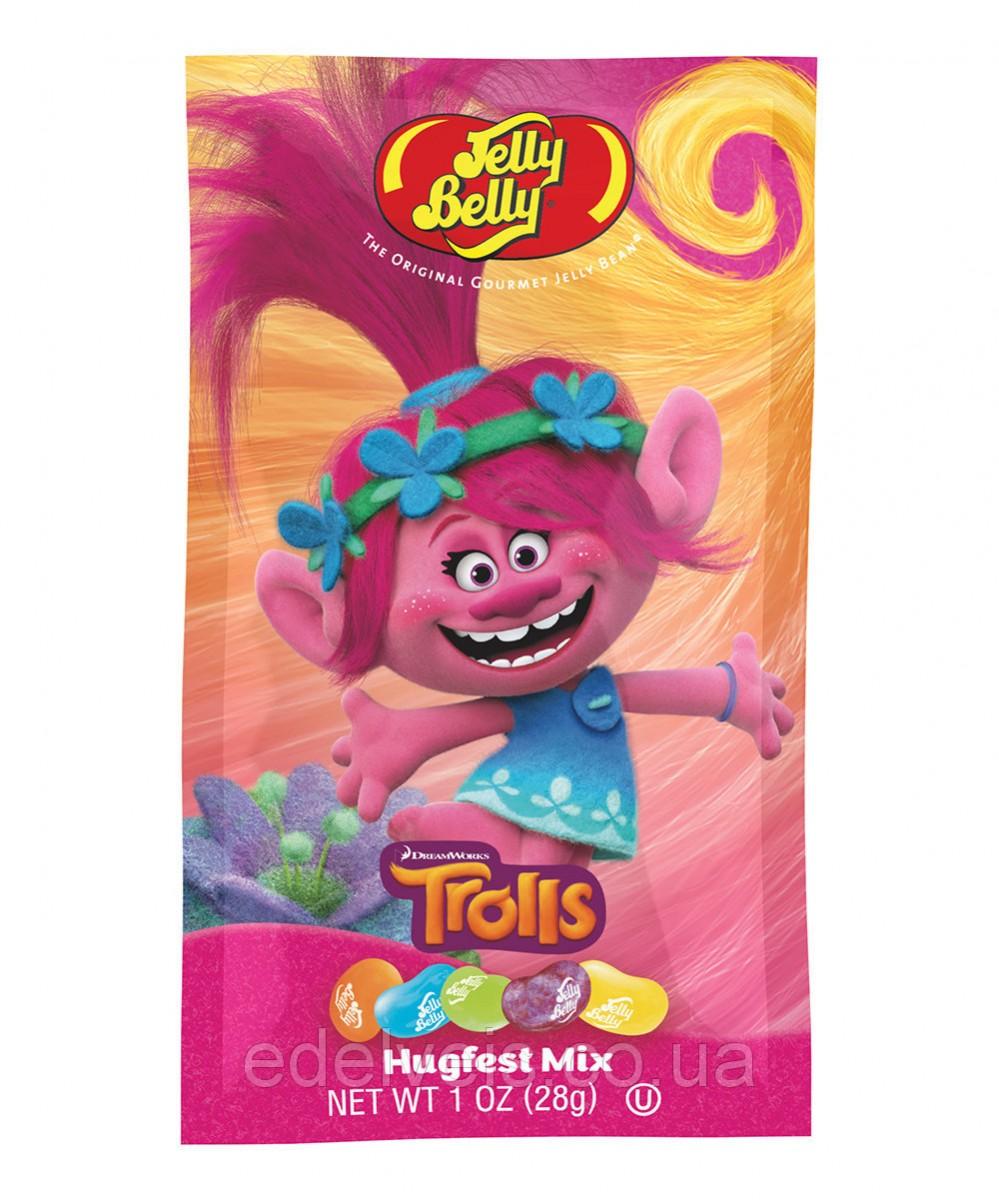 Конфеты Trolls Jelly Beans Розочка
