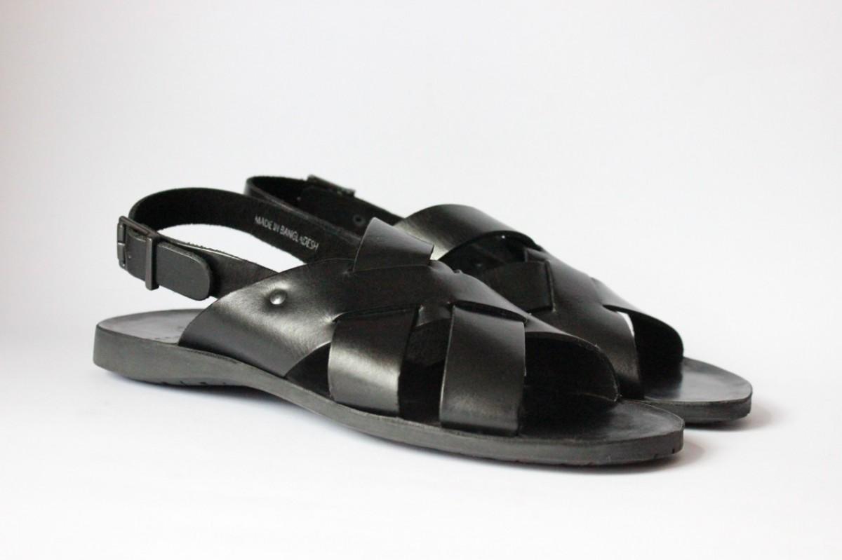 кожаные   сандалии известного итальянского бренда Mark Hero,