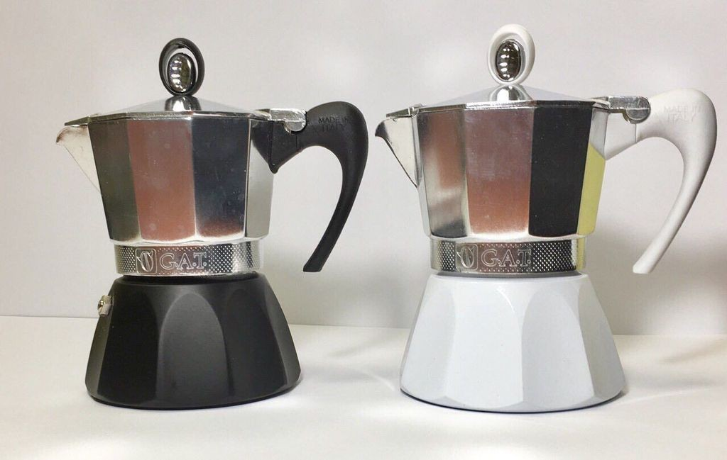 Гейзерная кофеварка для индукции на 360мл . Gat Diva (101506)