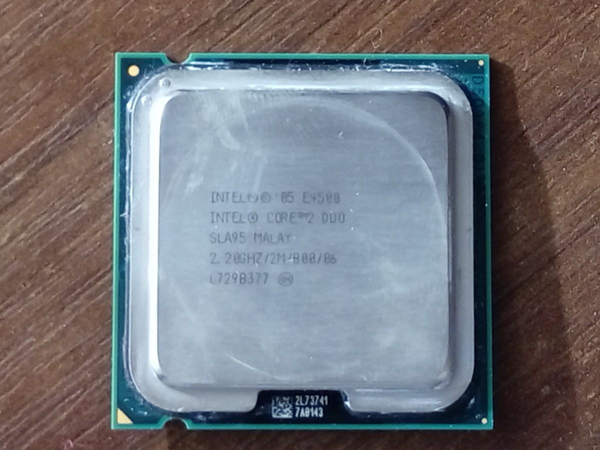 Процессор Intel Core 2 DUO E4500 2.2 GHZ