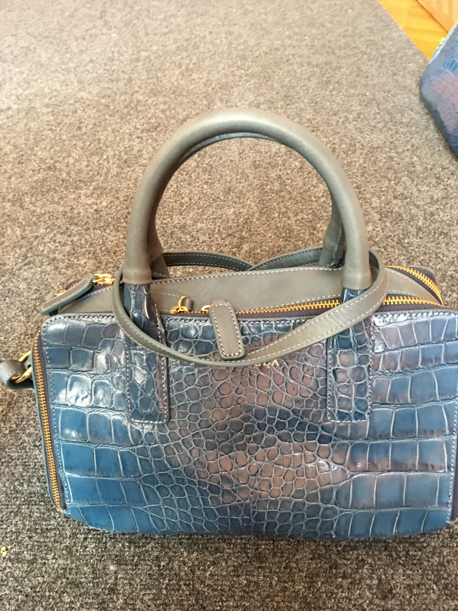 Кожаная женская итальянская сумка