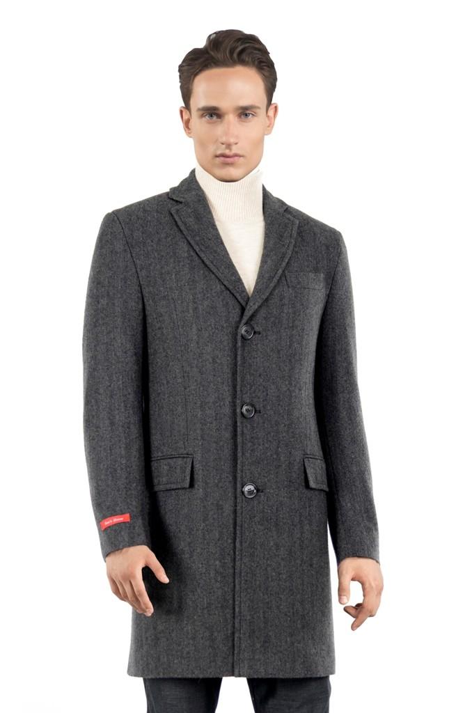 Мужское пальто Sun's House E-055 (Pirs)