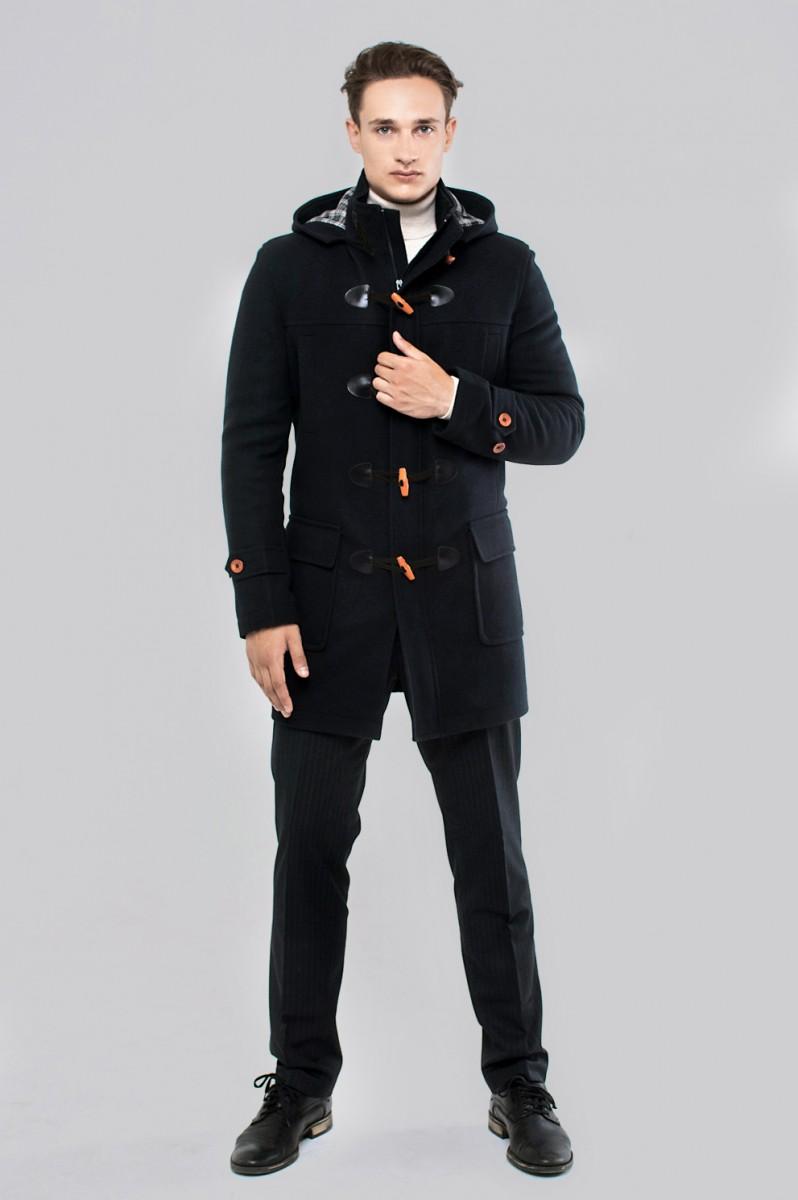 Мужское пальто Sun's House К-098 (Duffle coat)