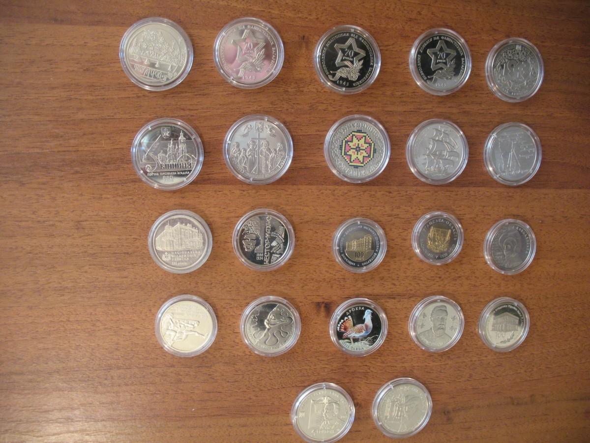 Продам весь набір українських монет за 2013 р. - 4500 грн.