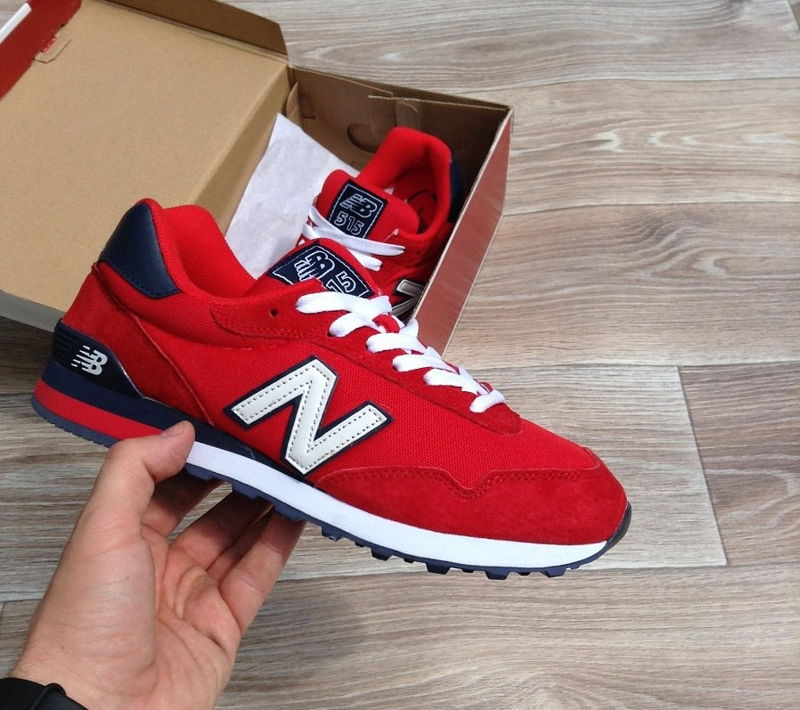 New Balance 515, красные