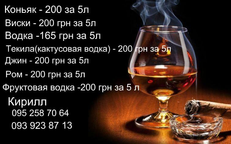 Водка,Коньяк,Виски