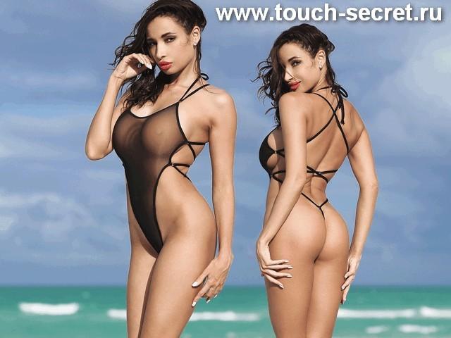 Черный необычный модный сeксуальный слитный купальник монокини стринги экстрим.