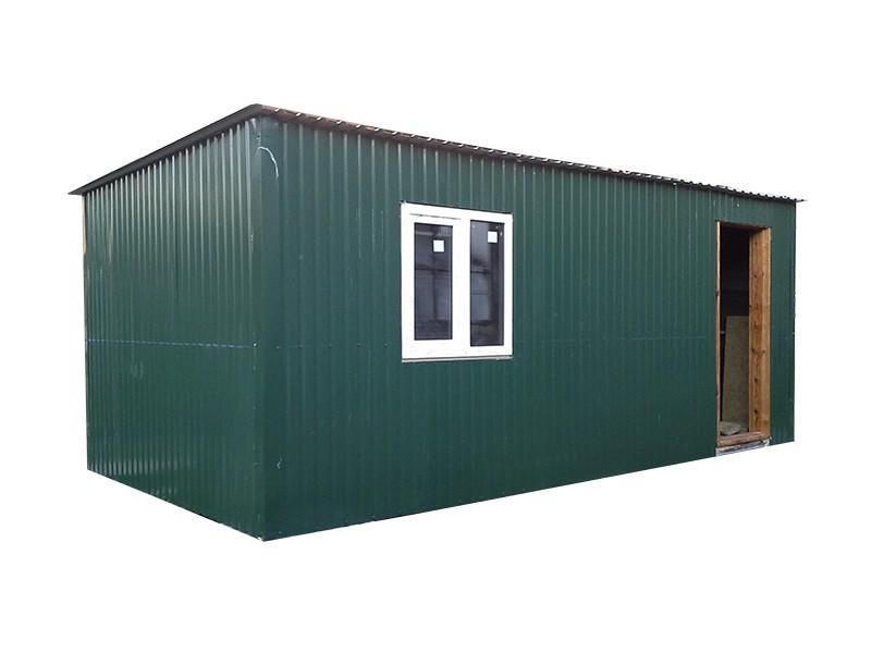 Бытовка, дачный домик 5,0х3,0х2,2 зеленый