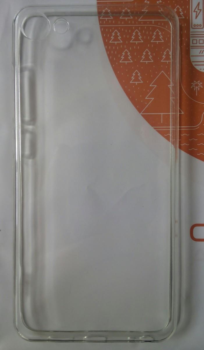Meizu U10 прозрачный чехол