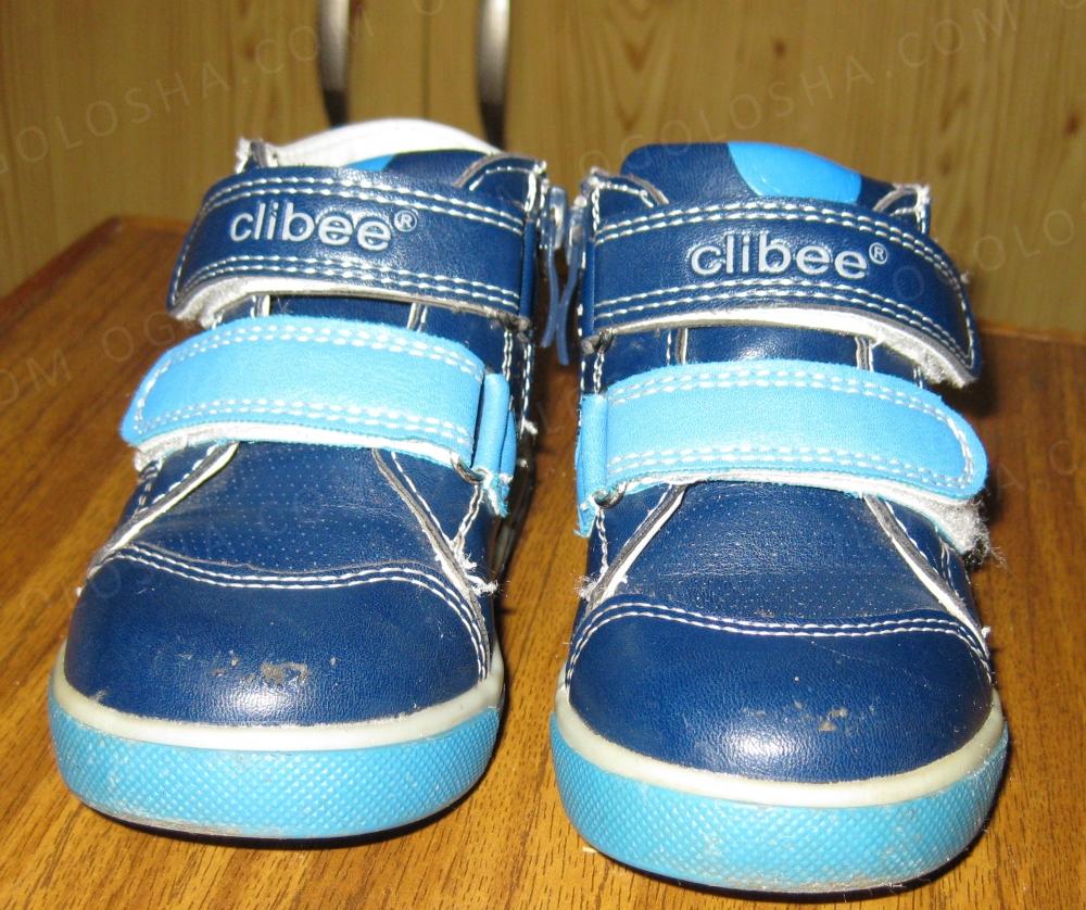 Ботинки детские Clibee кожа/ ортопедические р.21