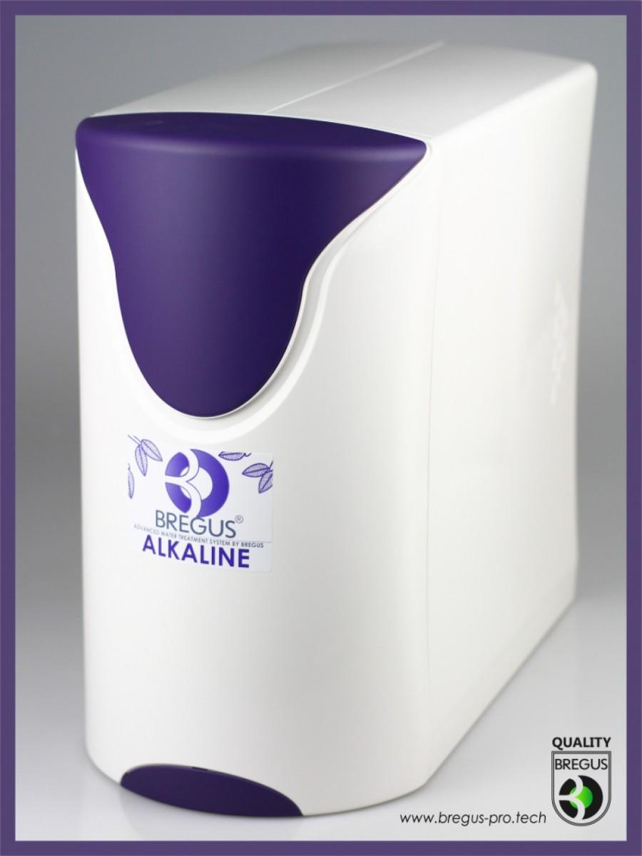 Компактна система зворотного осмосу Bregus® Alkaline-Redox з безелектричною помпою