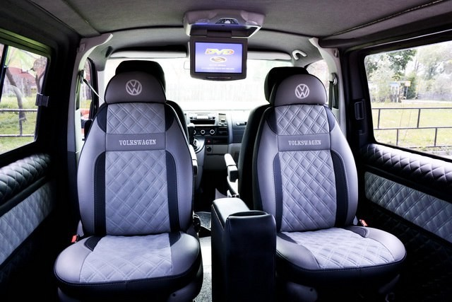 Перетяжка, обшивка салона, сидений, переоборудование микроавтобусов