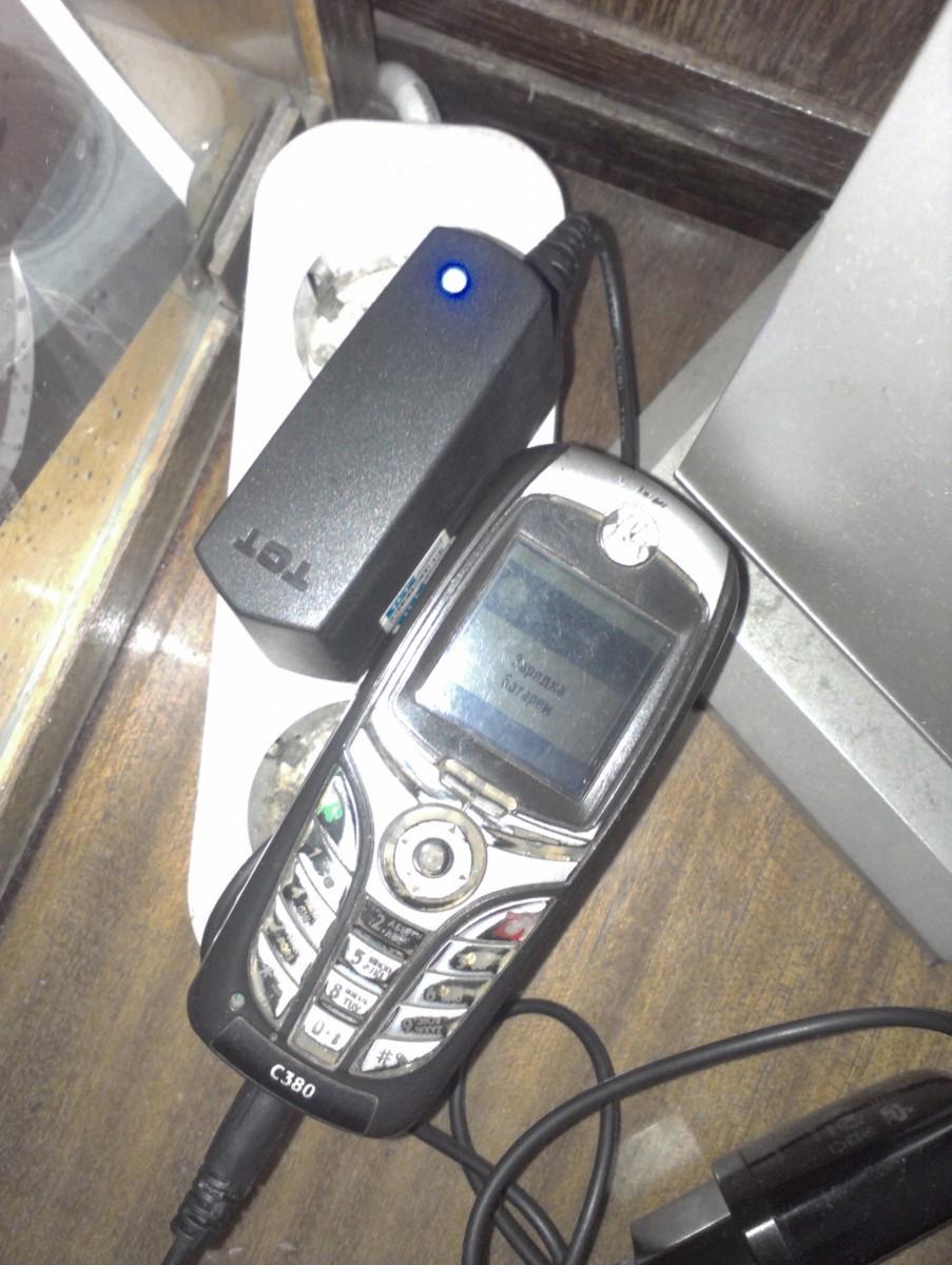 Телефон Motorola C380 рабочий для сети МТС(UMC)-официал+чехол+драйвера