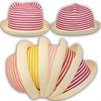 Соломенная шляпка с милыми ушками