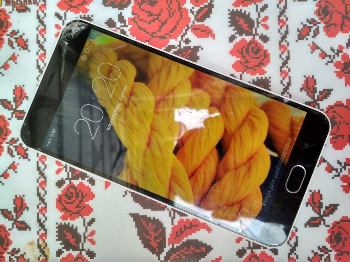 Meizu m2 note 16gb white с комплектом