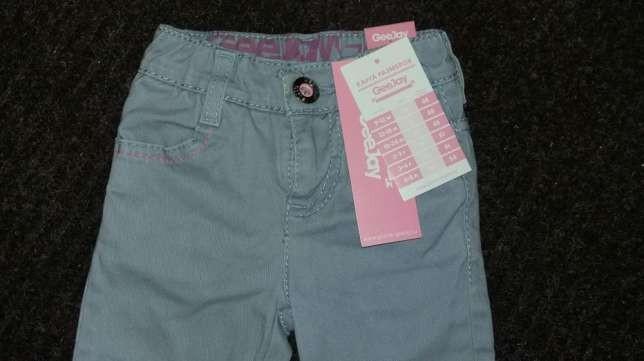 Стильные штанишки на девочку 2-3г, новые!