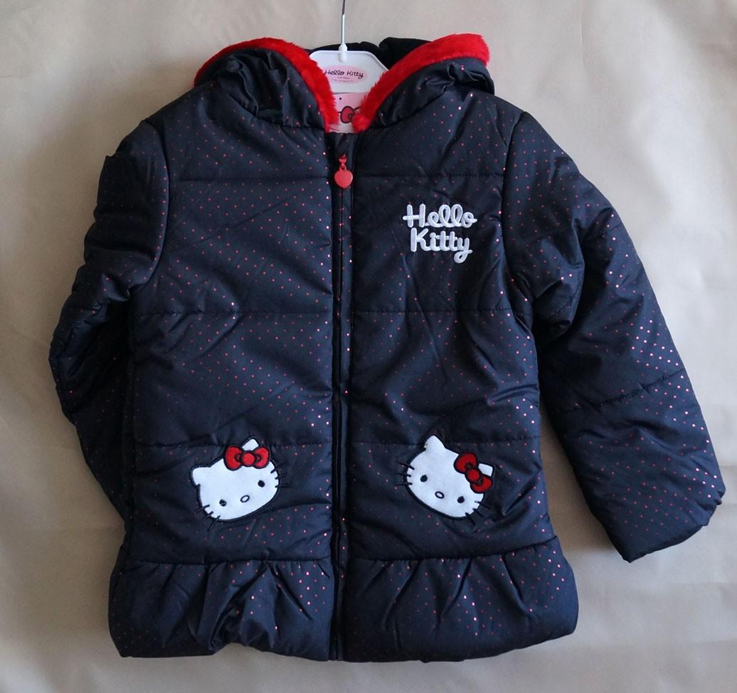 Куртка демисезонная Hello Kitty для девочки 5-8 лет